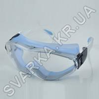 Очки защитные герметичные ЗНГ1 с дужками