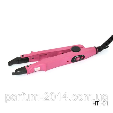 Щипцы для горячего наращивания волос HTI-01 с терморегулятором, , фото 2