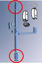 Защелки для антипаники противопожарных дверей путей эвакуации Dorma PHA-2000 3-точ.запирания