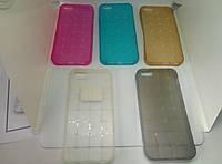Apple iPhone 5G/5S Силикон Magic Cube розовый