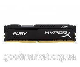 Оперативная память Kingston 4 GB DDR4 2400 MHz HyperX FURY (HX424C15FB/4)