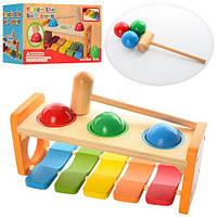 Деревянная игрушка Ксилофон MD 0941