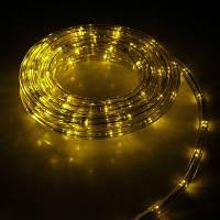 Дюралайт светодиодный 10 м, цвет: желтый