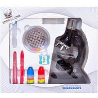Микроскоп пластиковый со светом  М17