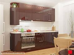 Модульные кухни фасады MDF крашенный глянец