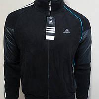 Мужской тёплый спортивный костюм Адидас 46- го размера
