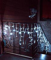 Новогодняя Светодиодная Гирлянда Бахрома  160 LED  Белый Цвет 5м