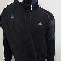 Мужской спортивный костюм Адидас тёплый распродажа