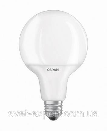 Лампа OSRAM LED SUPERSTAR G95 75 DIM 12W/827 220-240V FR E27, фото 2