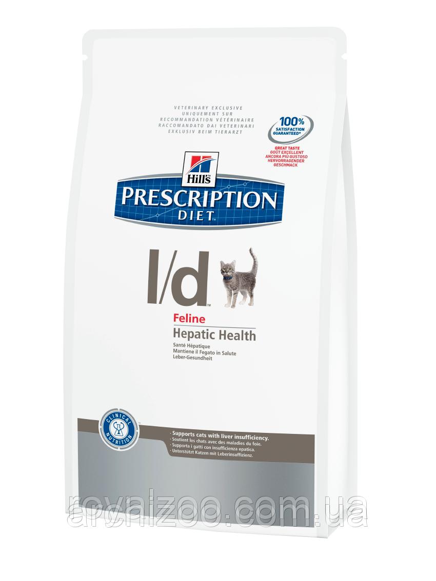Hills PD Feline L/D для кошек при заболеваниях печени 1,5 кг