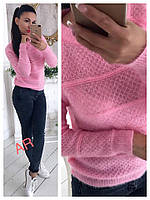Женский красивый вязаный свитер (4 цвета), фото 1