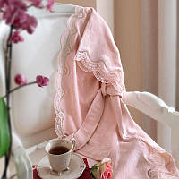 Tivolyo Home халат BAMBOO  женский  + полотенце 50X100 CM розовый