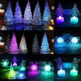 Ёлочки, фигурки LED