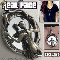 """Винтажная подвеска - """"Real Face"""""""