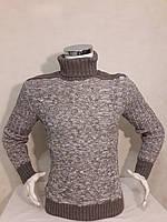 Свитер мужской вязанный высокое горло