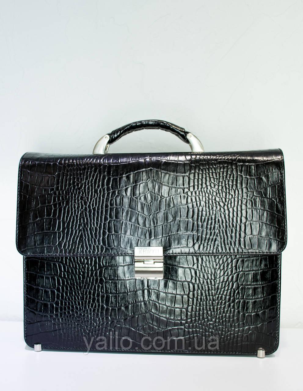 Мужская сумка из натуральной кожи KARYA 0612-53