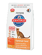 Hills SP Feline Adult Chicken для взрослых кошек с курицей 2 кг