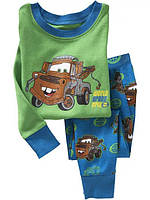 Пижама детская для мальчиков Мэтр из мультика Тачки 110размер