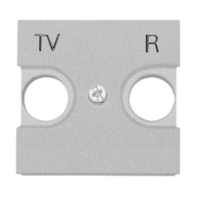 Центральна плата TV-R розетки ABB Zenit Серебро N2250.8 PL