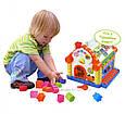 Логическая игрушка-Теремок-Сортер JOY TOY 9196, фото 5
