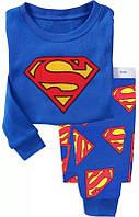 Пижама детская для мальчиков СуперМен 90