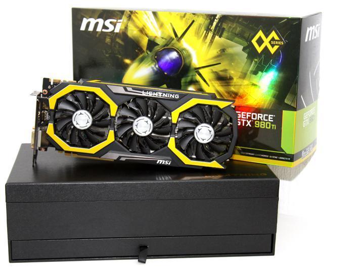 "Видеокарта MSI GTX980 Ti LIGHTNING 6GB ""Over-Stock"""