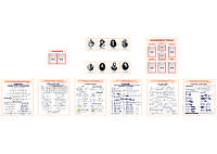 Комплект стендов для кабинета математики (МДФ)