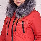 Стильное зимнее женское пальто сезона зима 2017-2018 - (модель кт-176), фото 3
