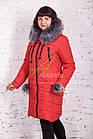 Стильное зимнее женское пальто сезона зима 2017-2018 - (модель кт-176), фото 2
