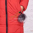 Стильное зимнее женское пальто сезона зима 2017-2018 - (модель кт-176), фото 4