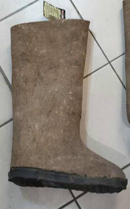 Валенки битые на резиновой подошве, фото 2