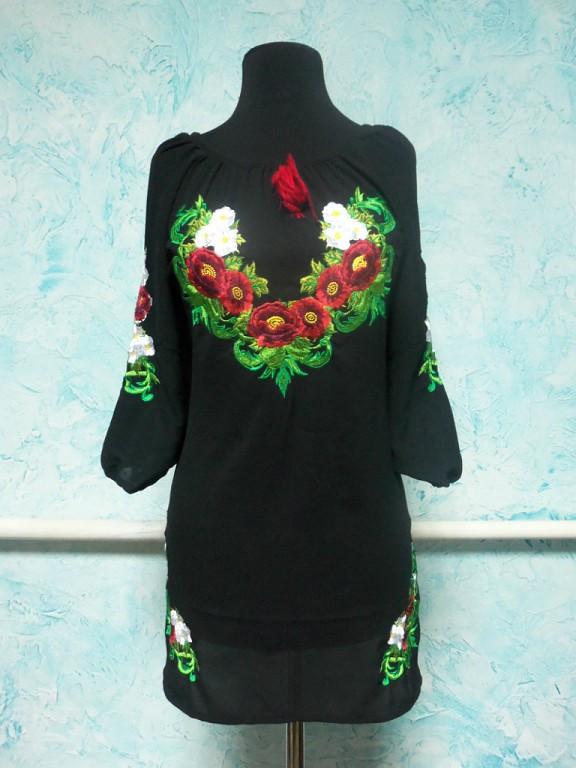 Вишита жіноча сукня № 22 г.г