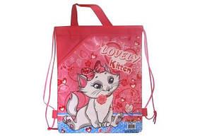 "Сумка для сменки WL ""Lovely kitten"" маленькая с ручками"