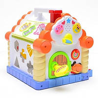 Логическая игрушка-Теремок-Сортер JOY TOY 9196