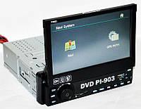 "1din Автомагнитола Pioneer PI-903 7"" экран GPS-Tv/Fm-тюнер"