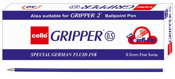 """Стержень шариковый """"Cello"""" Gripper синий 0.5 мм. (подходит для Finegrip ручек)"""