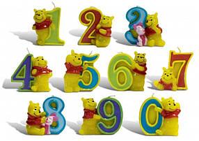 Свечи цифры (в торт) Winni Pooh №2