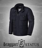 Braggart Status 09838 | Мужская демисезонная куртка черная