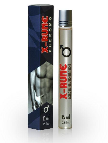 Духи с феромонами мужские X-rune (roll-on), 15 ml