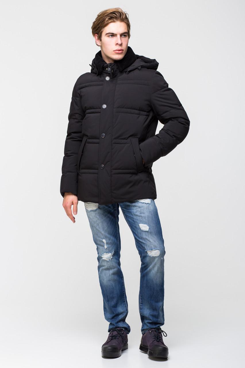 Тёплая мужская куртка батал на утеплителе - нано-пух CW17MD053CKB