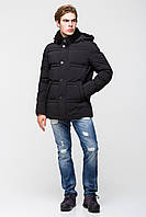 Тёплая мужская куртка батал на утеплителе - нано-пух