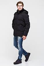 Тёплая мужская куртка батал на утеплителе - нано-пух CW17MD053CKB, фото 2