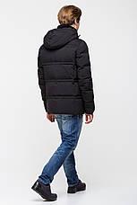 Тёплая мужская куртка батал на утеплителе - нано-пух CW17MD053CKB, фото 3