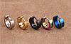 Серьги кольца 316L 9х4