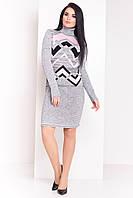 Вязаное платье, размер 42 - 46
