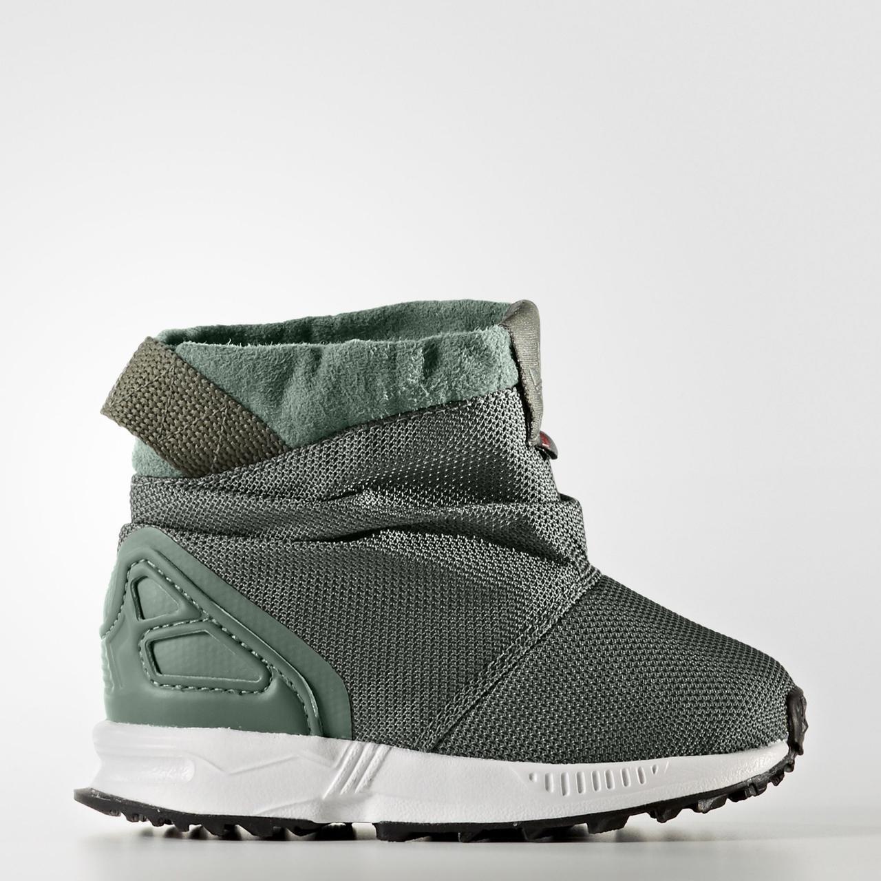 29151f786dcc Детские сапоги Adidas Originals ZX Flux (Артикул  BY9065) -  Интернет-магазин «