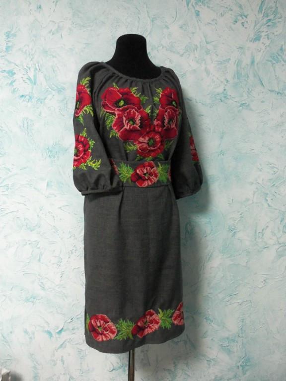 Вишита жіноча сукня № 29 г.г