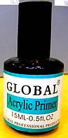 Праймер для акрила Глобал Acrylic Primer Global 15ml (кислотный)