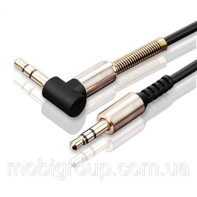 AUX-кабель 3.5мм аудио, длина 1.5 метра Black