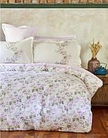 Постельное белье Karaca Home ранфорс Shale лиловое евро размер